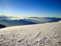 渡首脑会议阿尔卑斯山