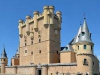 渡槽塞戈维亚城堡