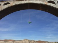 Bungee jumping in Teruel