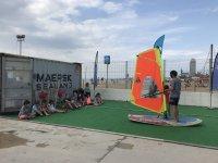巴塞罗那帆板课程