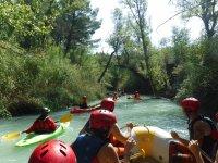 Rafting y kayaks en Teruel