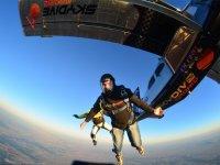 Under the jump plane