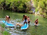 Paddle Surf en río