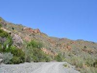 Pista de tierra en Sopalmo