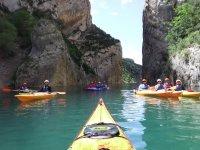 Kayaks en Montrebei