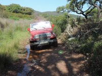 On the funniest roads in SUV
