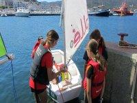 管理帆船帆船