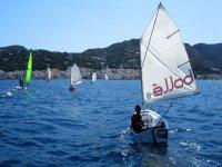 几个帆船帆船外海