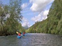Salida en canoa en Unquera