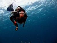 Buceo en las calas de Menorca