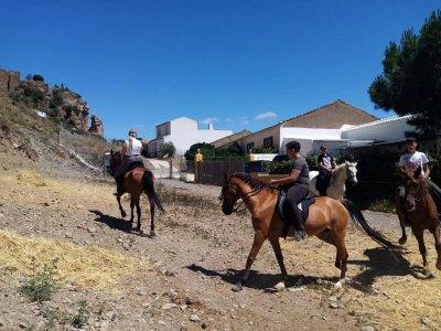 Rutas a caballo El Chascá