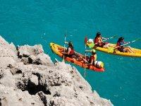 Navegar en las calas de Menorca