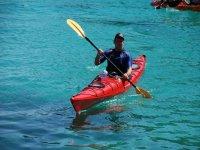 Excursiones en kayak en Menorca