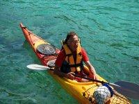 Alquiler de kayak individual en Menorca