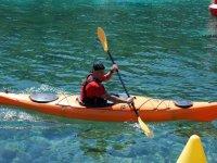 Navegar en kayak en Menorca