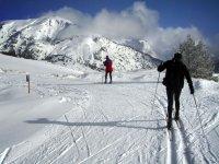 rutas de esqui de fondo