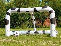 Inflatable goal in Avila