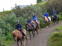 Practicar una ruta a caballo en Menorca