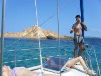 Excursión en catamarán