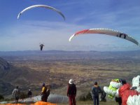 Have fun paragliding
