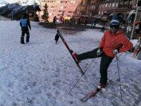 we ski every day