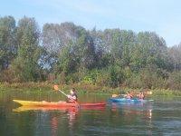 Canoa individuale e doppio kayak