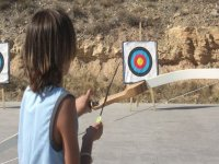 Rilassati praticando tiro con l'arco