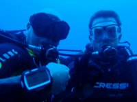 Instructor y Dive Master juntos