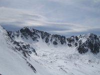 练习全景距离Grand Valira滑雪