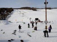 位于Grand Valira距离Grand Valira滑雪享受单板滑雪选手的标志