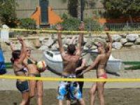 team building volley