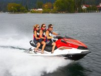 Guided jet ski excursions