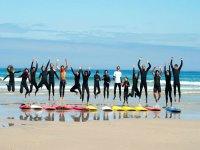 Studenti di surf