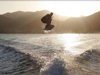 Salta con scia