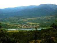 Parque de aventura en el valle del Lozoya