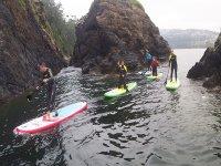 Paddle surf en acantilado