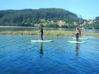 Ruta de paddle surf en Oleiros