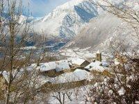 El pueblo nevado