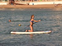 Lessons with paddle surf
