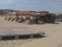 Area di sosta sulla spiaggia