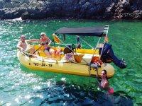 Barca nella baia