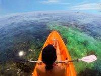 Canottaggio nel kayak