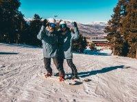 Saludos desde las tablas de snow