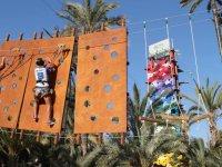 Rocodromo y circuito de aventura