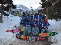 Expedición de snow en Masella