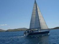 In a sailing class