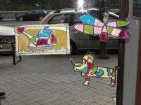 彩绘玻璃车间