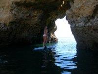 Padel Surf por cuevas marinas