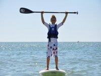 Cursos para niños de padel surf