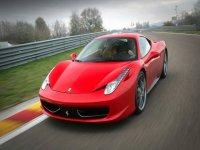 Give away driving in Ferrari